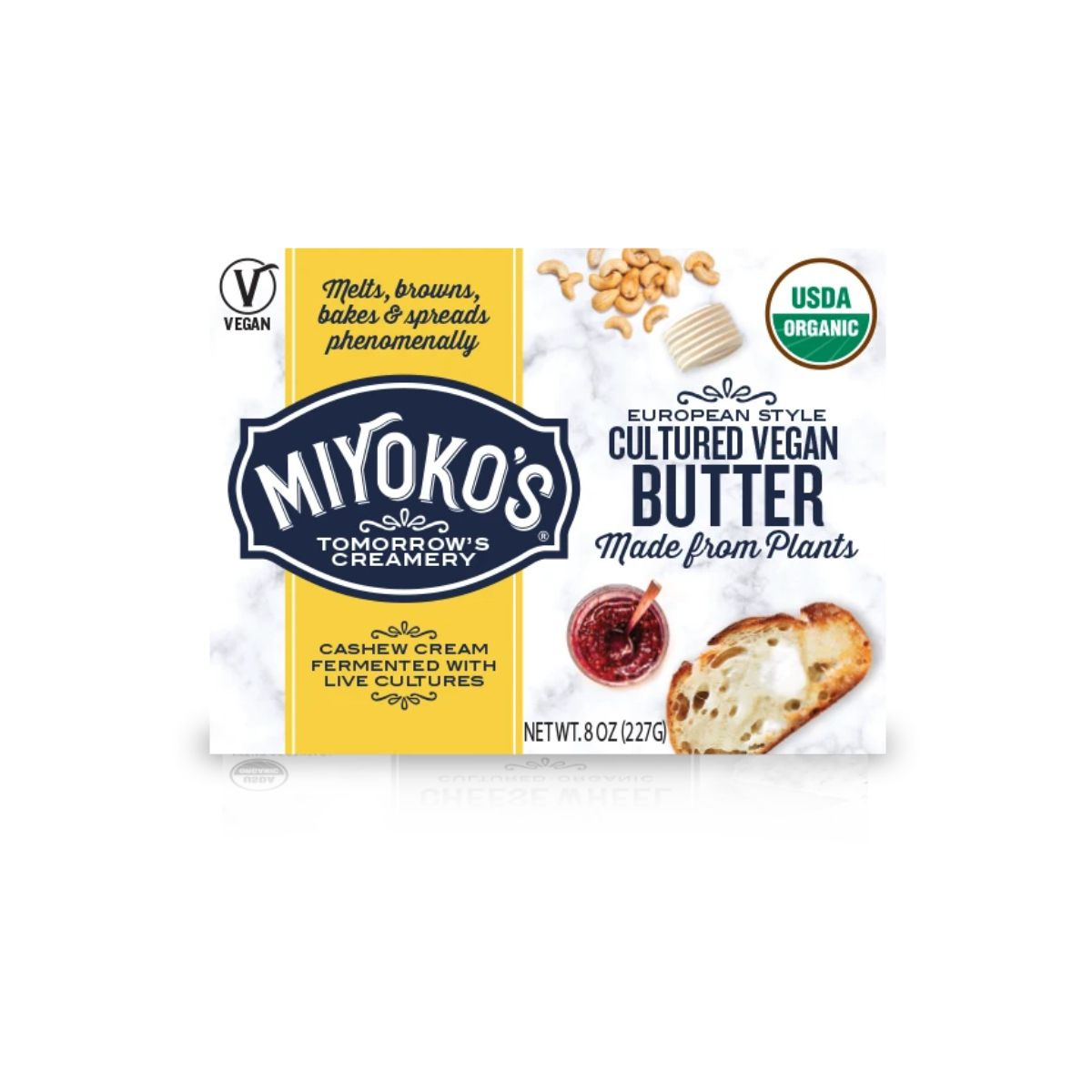 Miyoko's European Style Cultured Vegan Butter