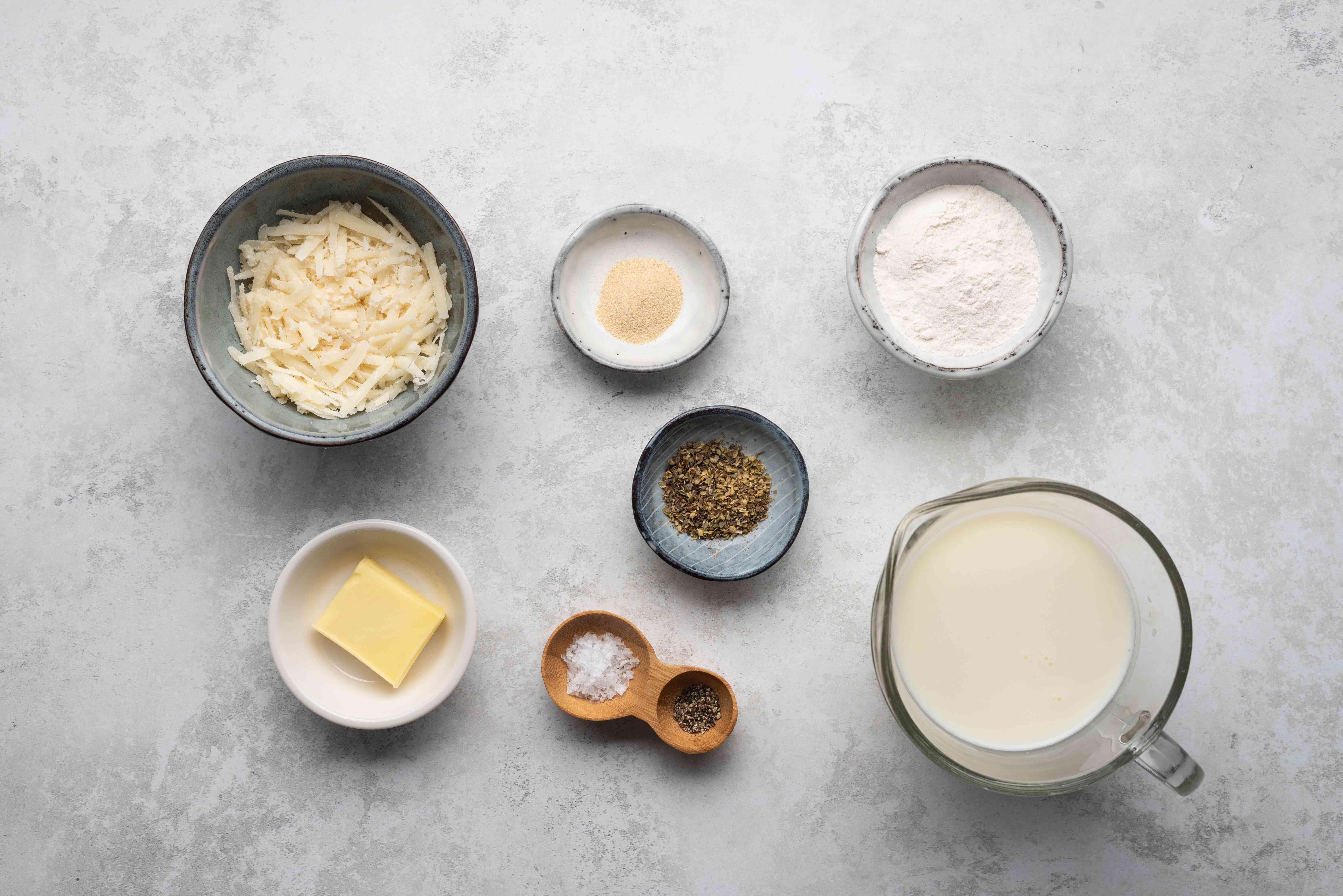 White Pizza Sauce ingredients
