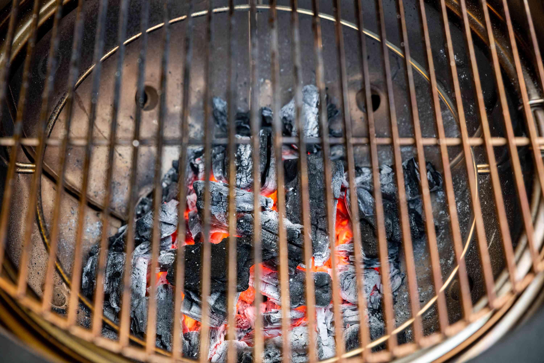 preheat the grill