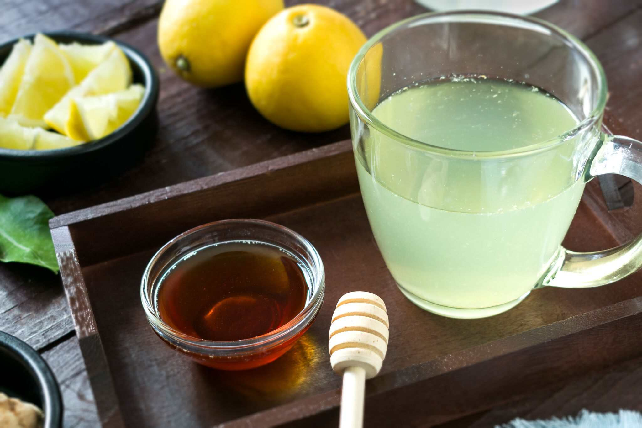 honey lemon ginger tea recipe cold and flu relief