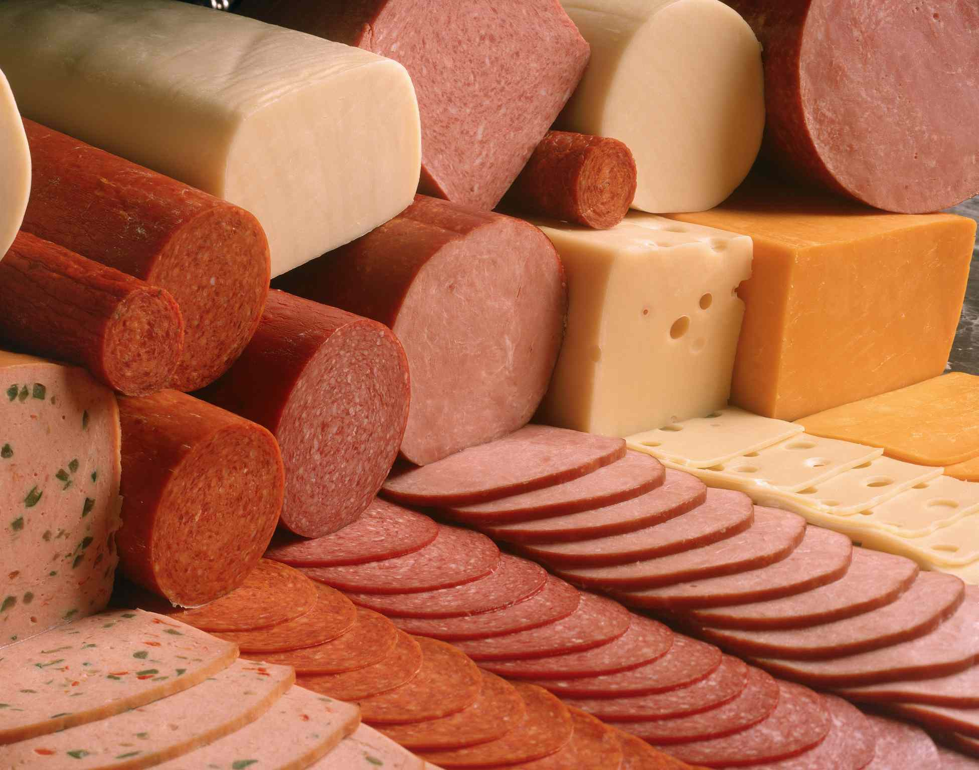 Meats and cheeses
