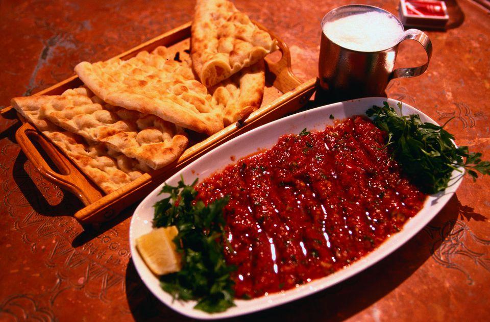 Turkish 'ezme' salad
