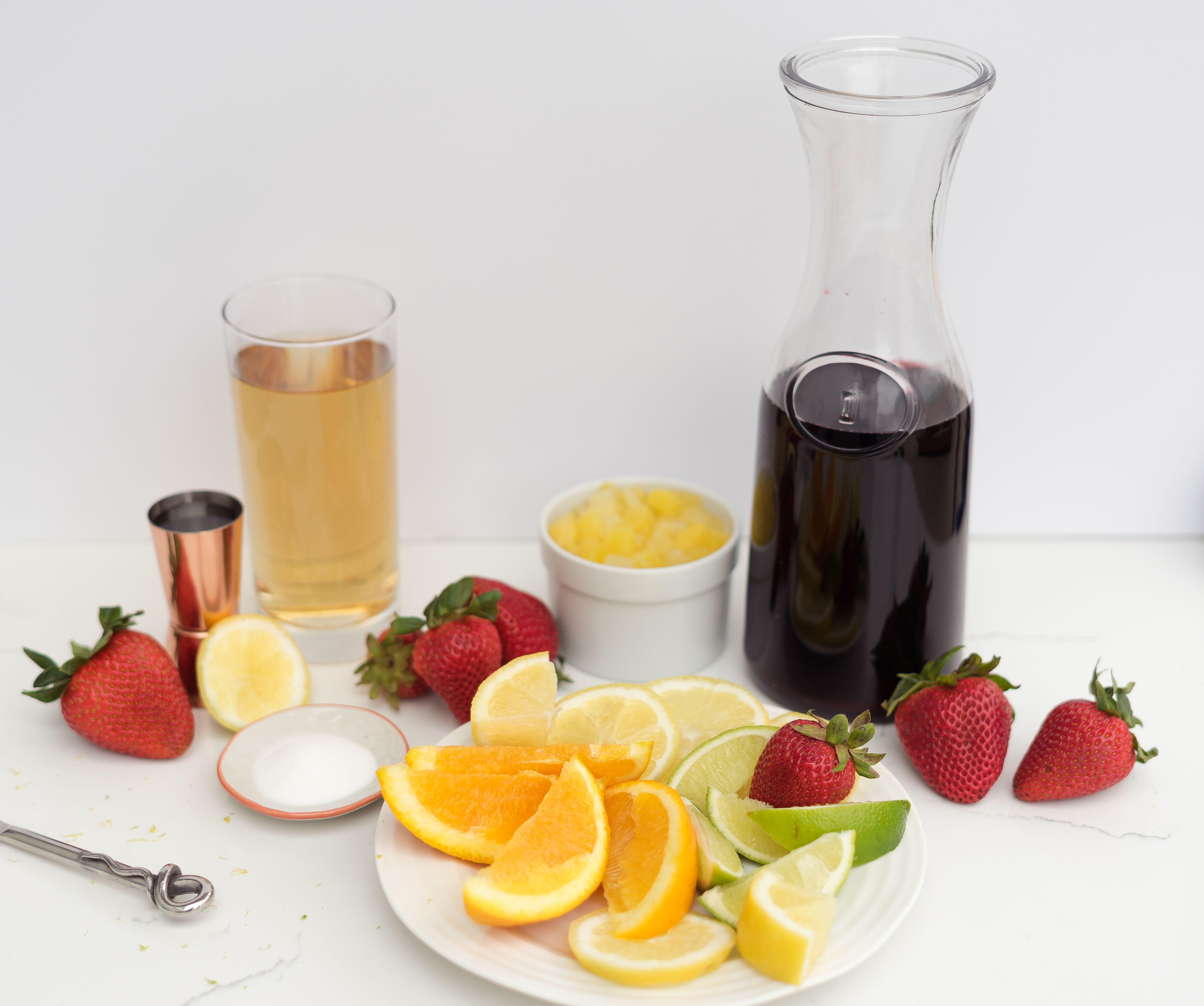 Sangria Recipe - ingredients