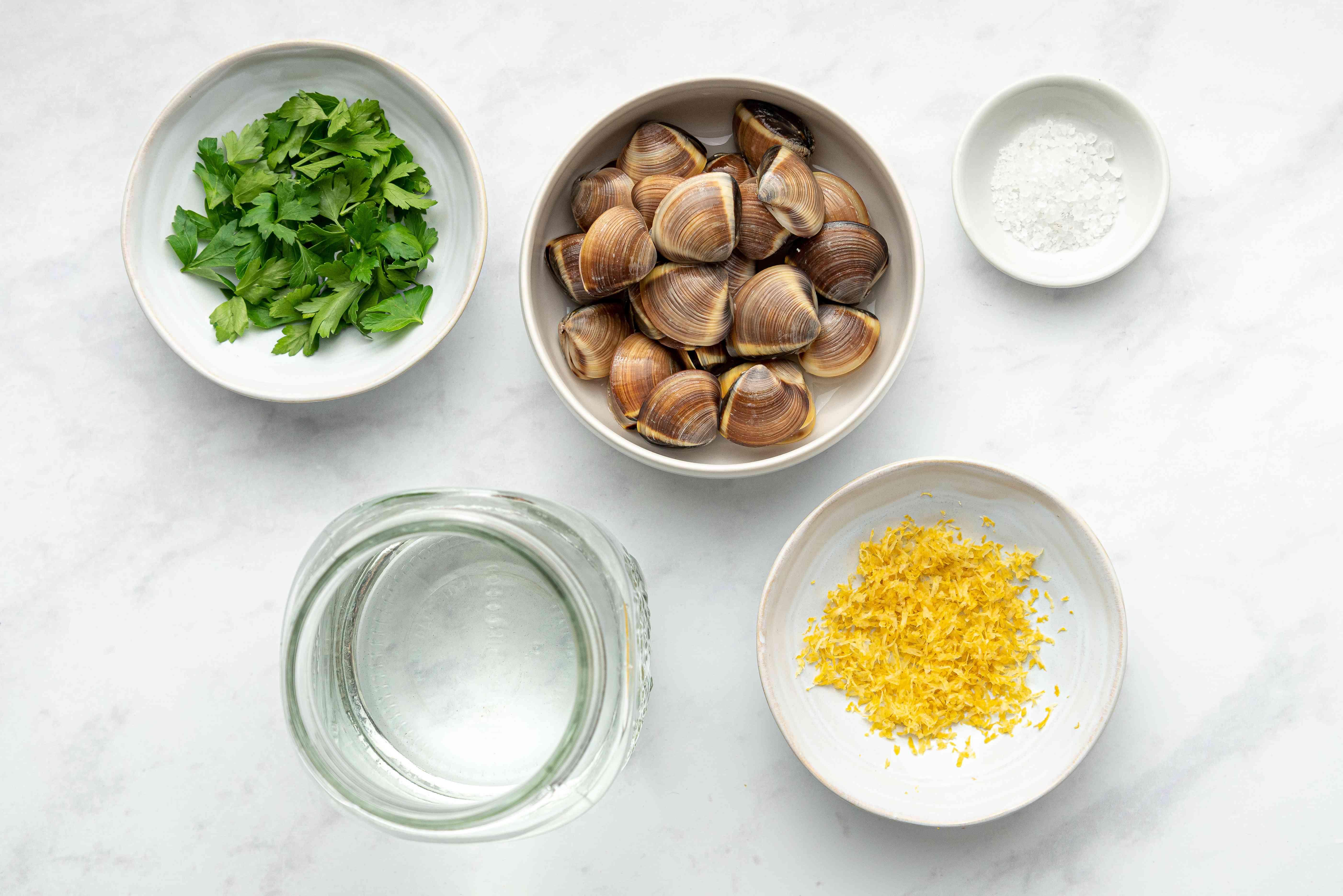 Japanese Clam Soup (Asari No Sumashijiru) ingredients