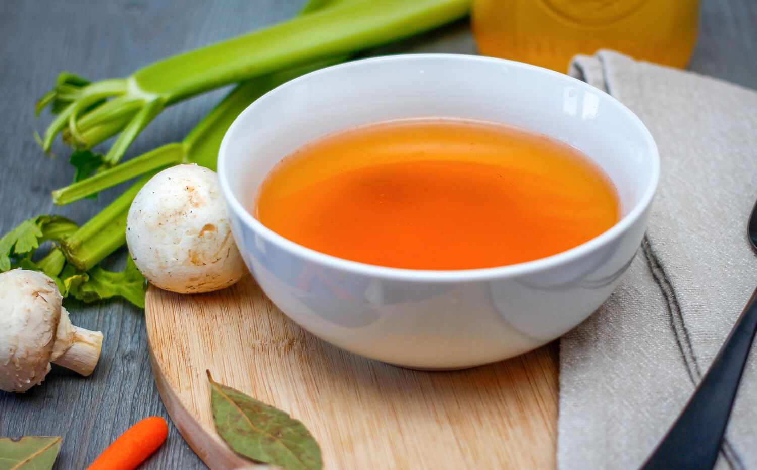 Basic Vegetable Broth Recipe