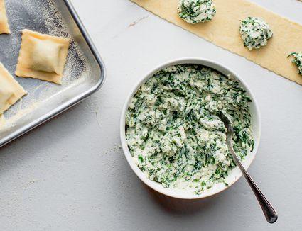 Ricotta and spinach recipe