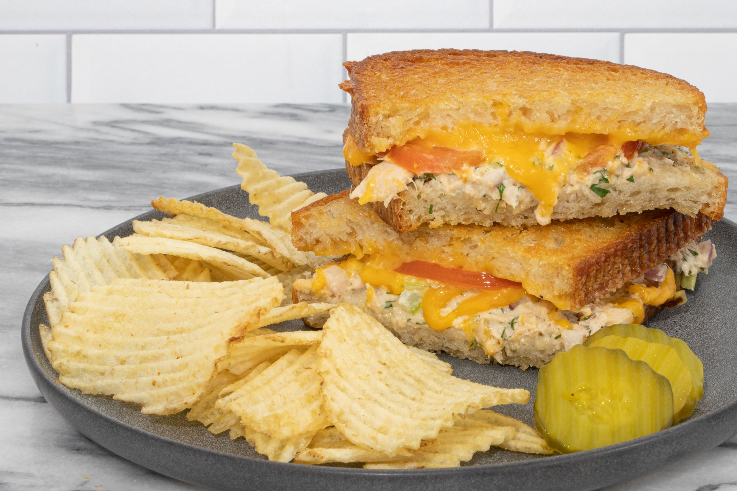 Come Lunch or Dinner, Tuna Melt Sandwiches Are Always a Great Choice