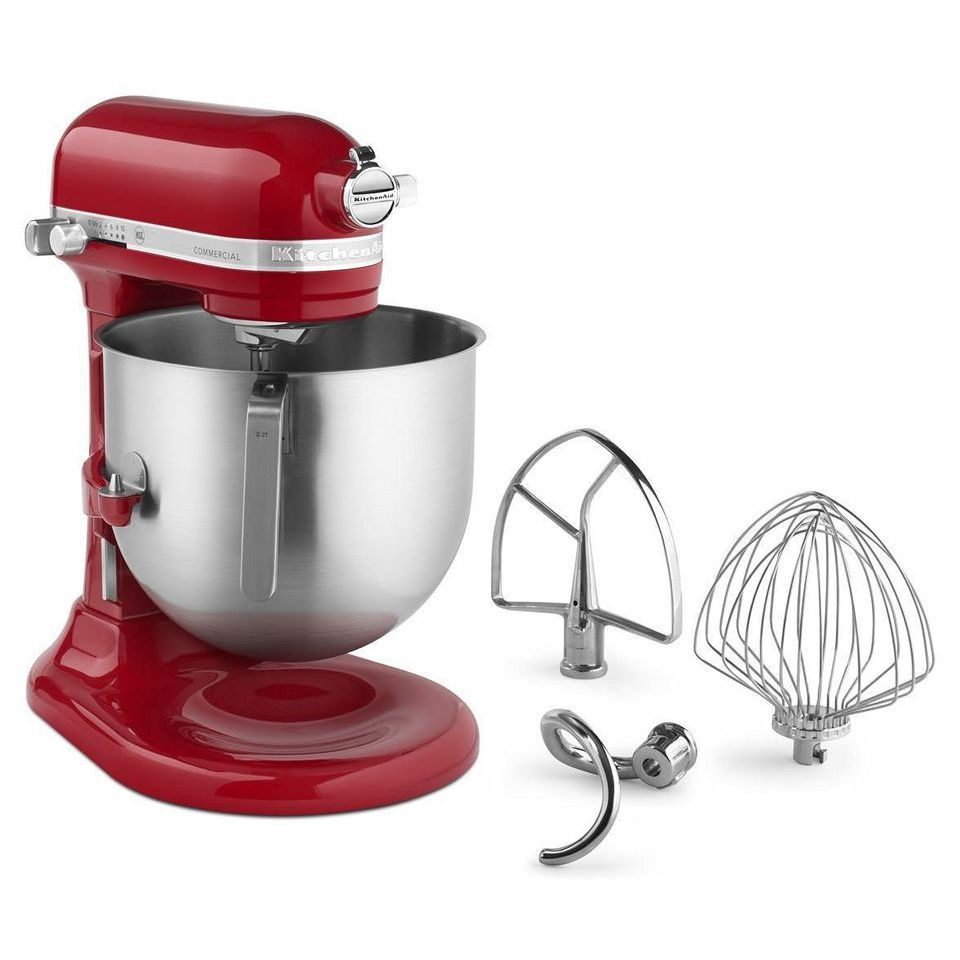 Best Large Capacity Kitchenaid Commercial 8 Qt Bowl Lift Nsf Stand Mixer