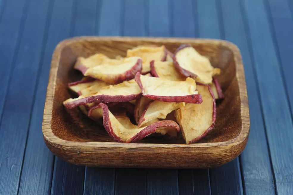 Oven-Dried Apple Slices