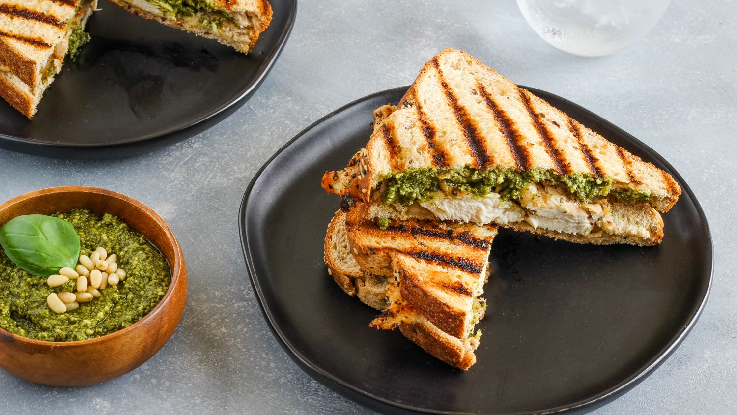 Grilled Chicken Panini Sandwich Recipe