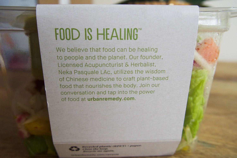 Urban Remedy food is healing