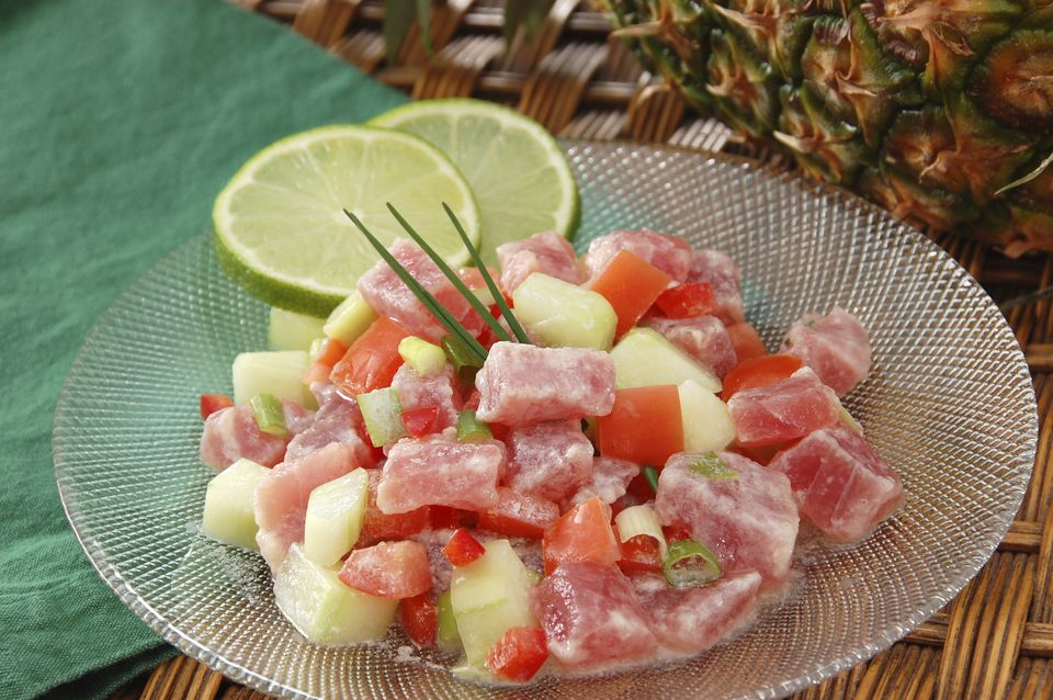 Recipe for poisson cru national dish of tahiti poisson cru forumfinder Choice Image