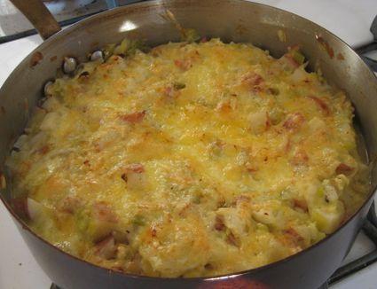 Potato Cabbage Casserole