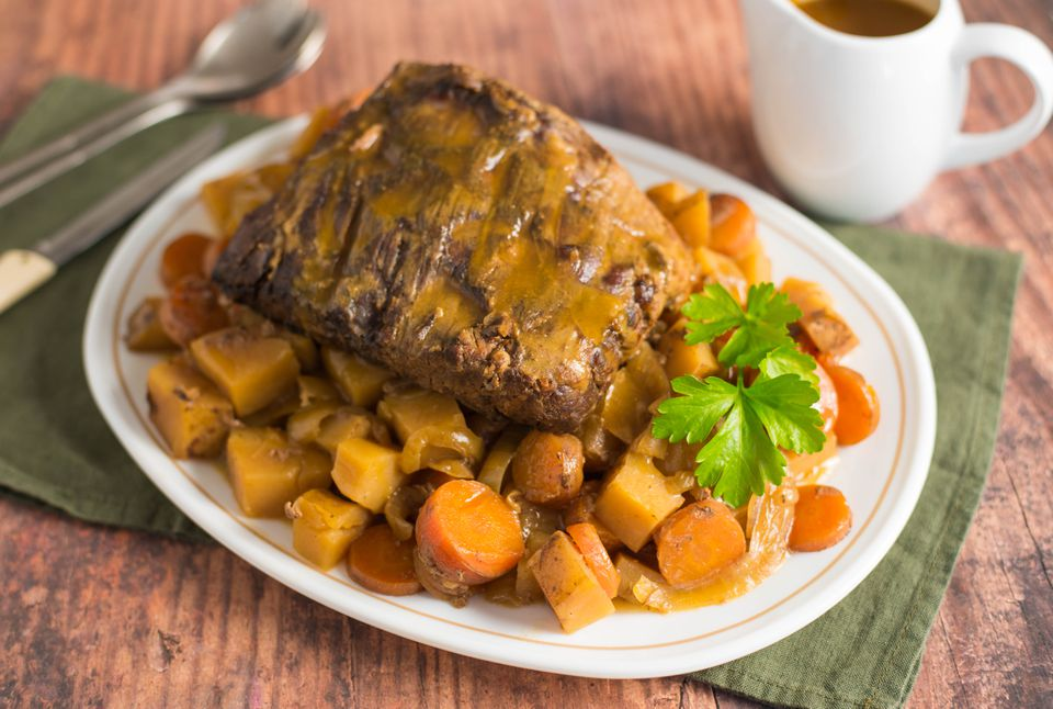 Pot roast the slow cooker recipe