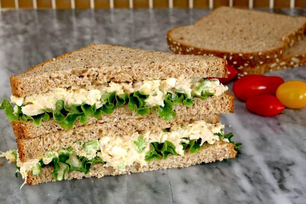 Tuna and Egg Salad