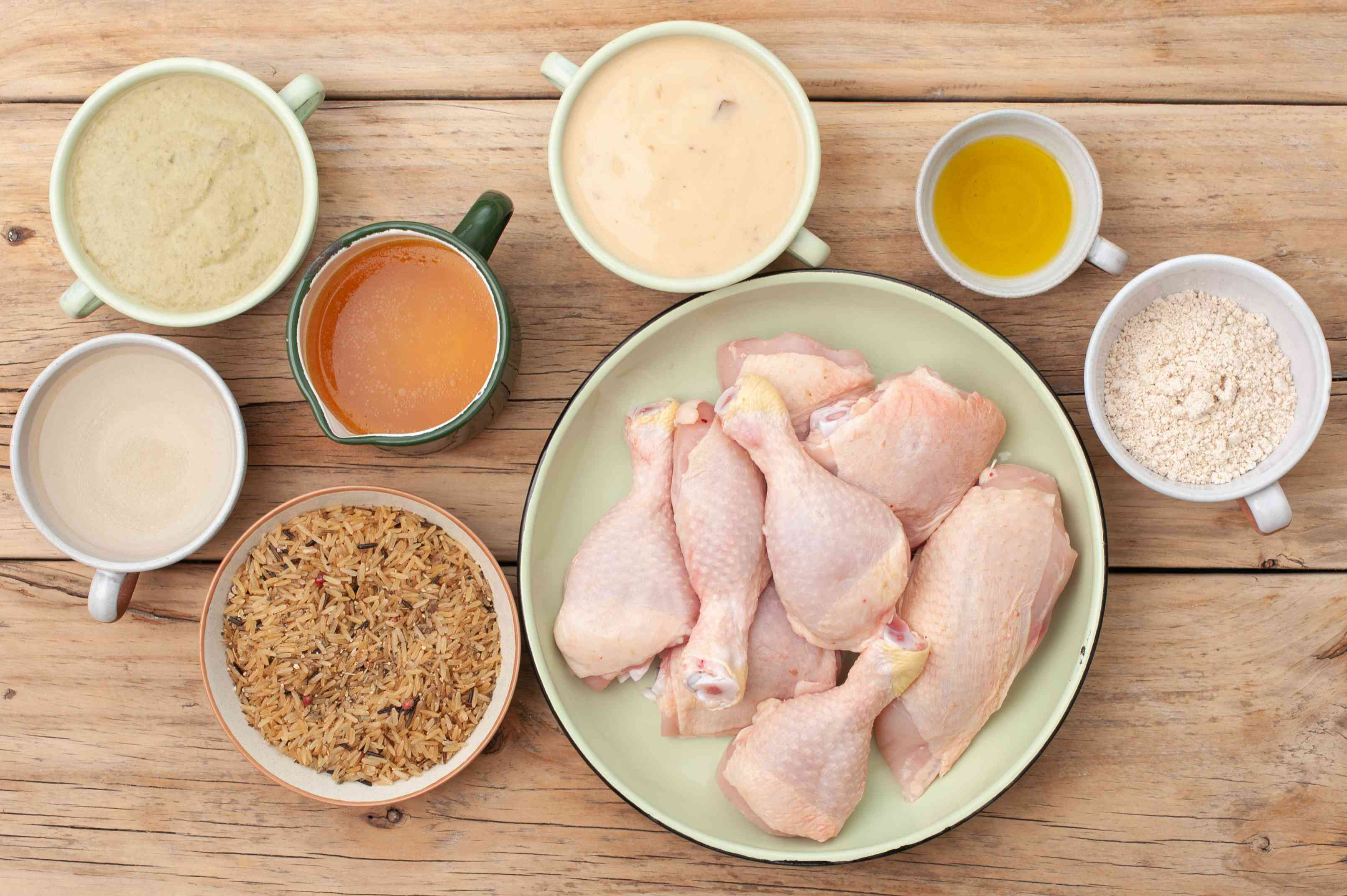 Ingredients for no peek chicken
