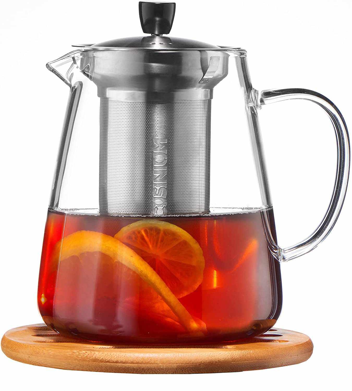 Cusinium Glass Teapot with Infuser Set