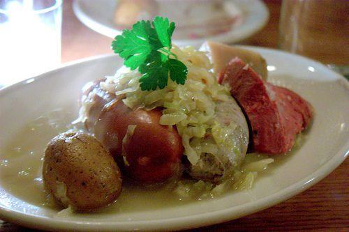 Alsatian Sauerkraut One-Pot Meal - Choucroute Garni