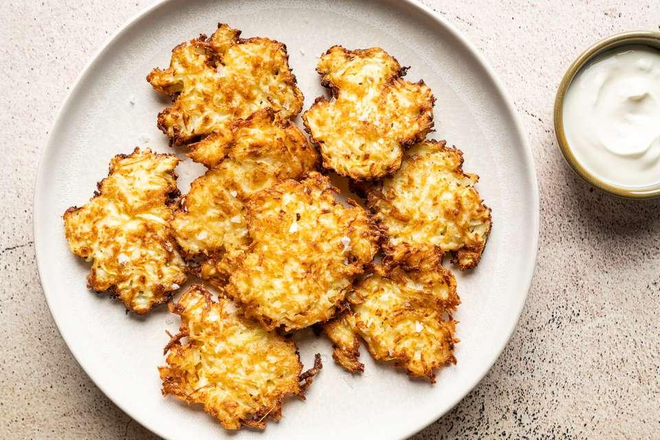 Kohlrabi Fritters Recipe