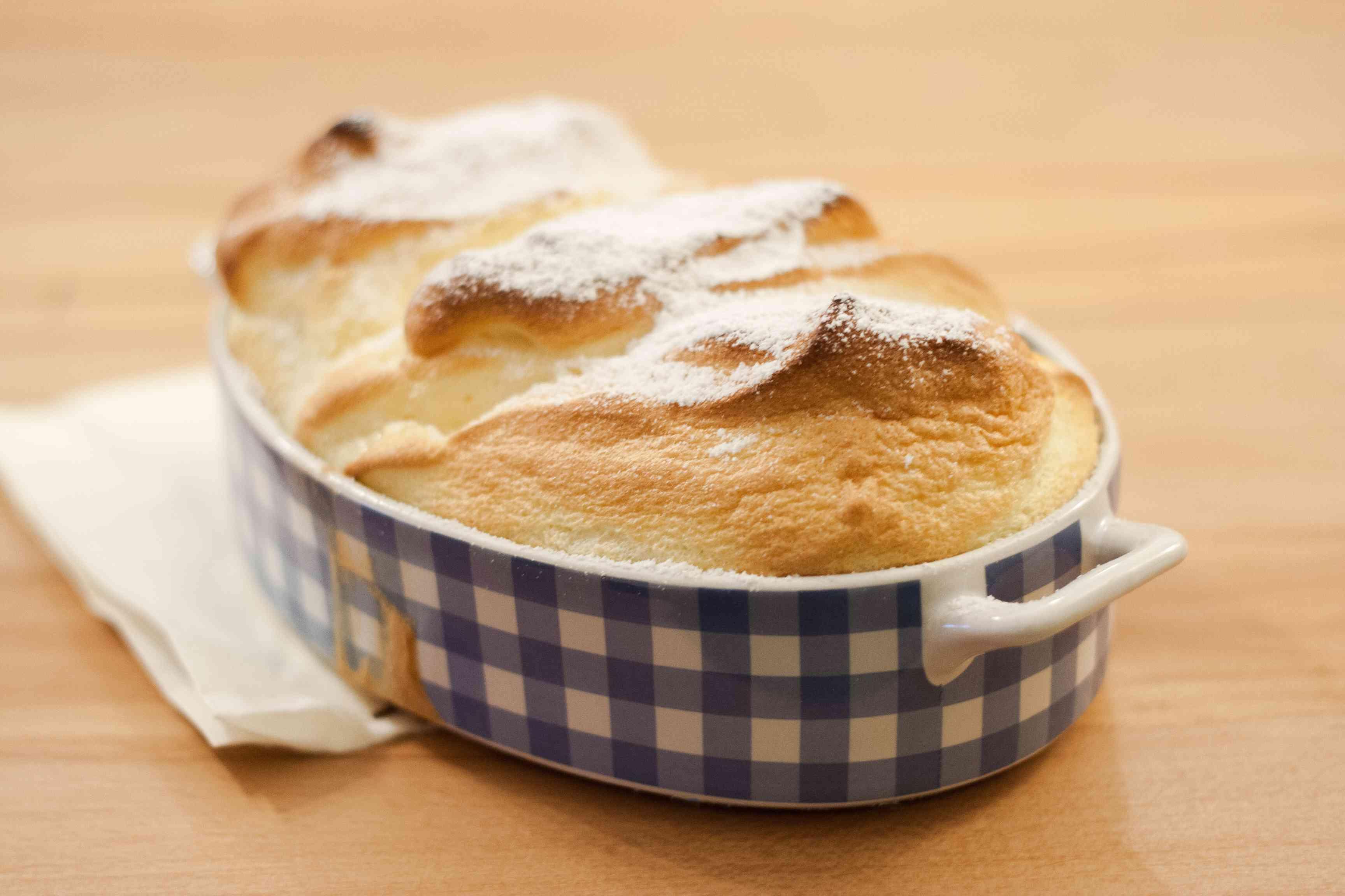 Austrian Baked Vanilla Souffle