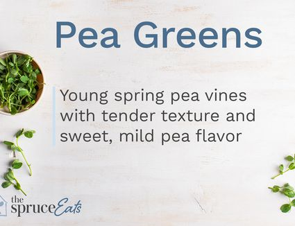 what are pea greens