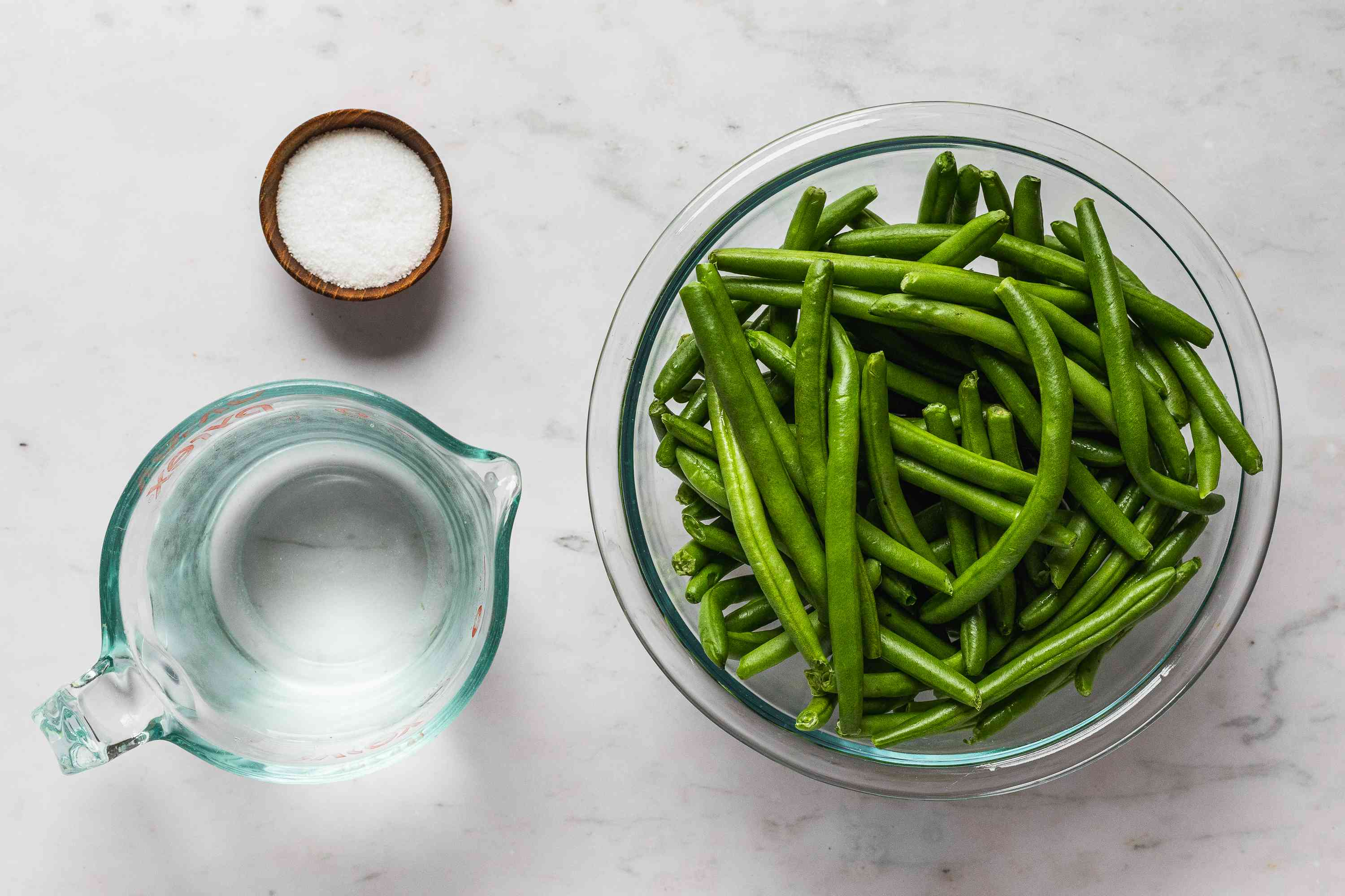 Lacto-Fermented Green Beans ingredients