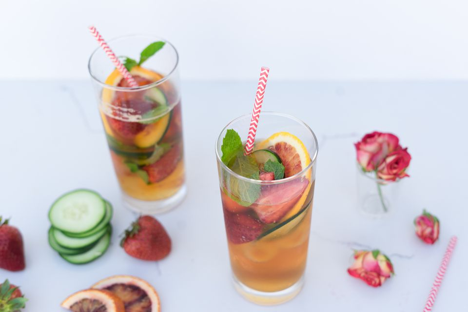 Traditional pimms