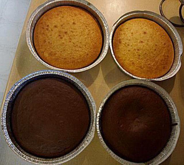 Four cakes