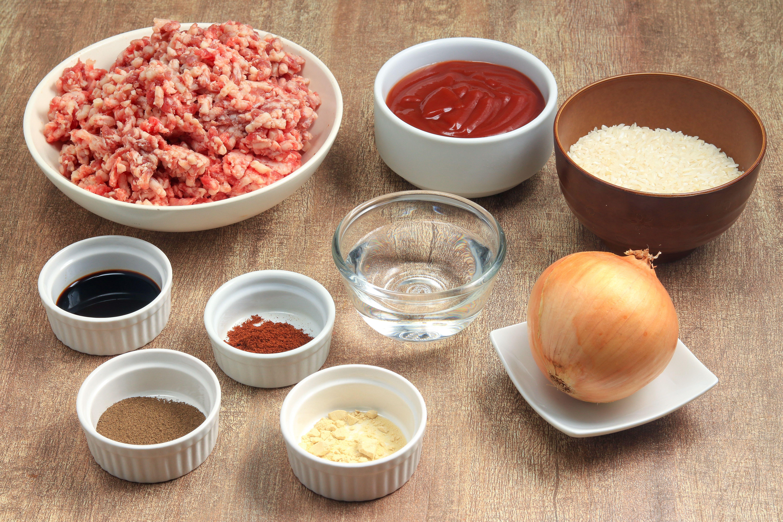 Porcupine meatball recipe ingredients