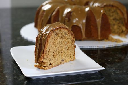 fresh apple cake recipe with brown sugar topping