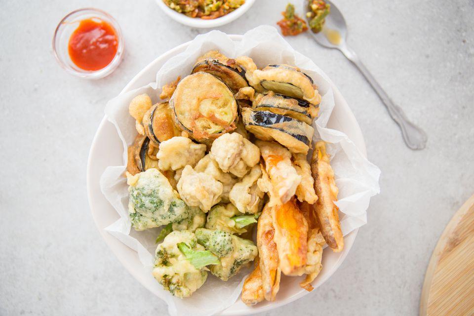 Tempura battered food