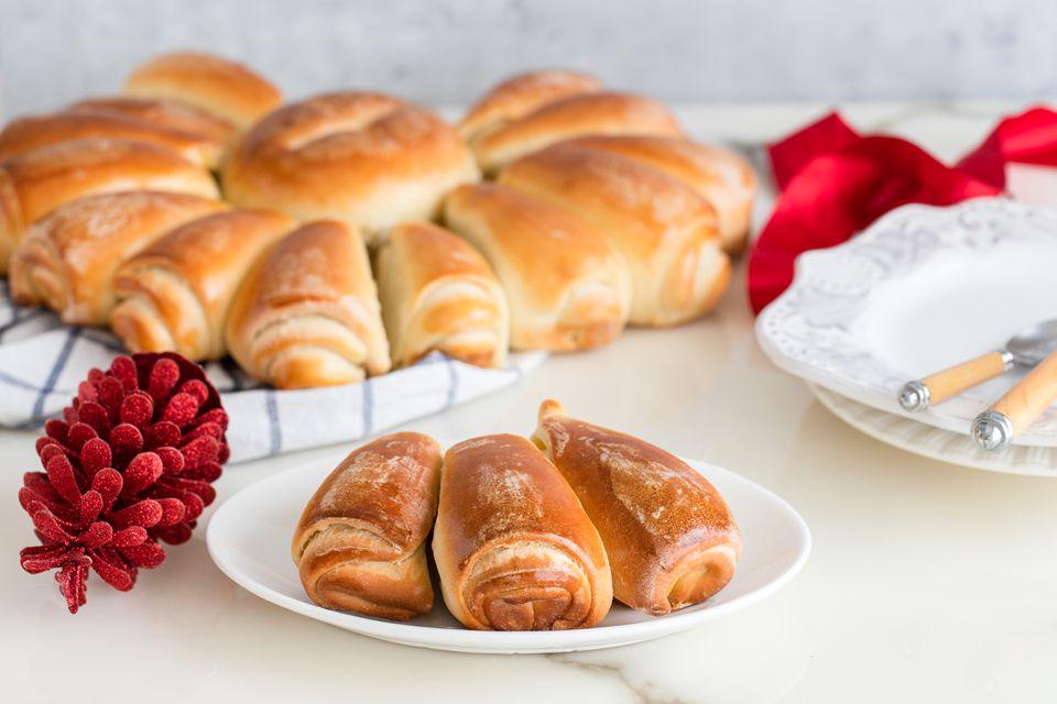 Bulgarian Christmas bread