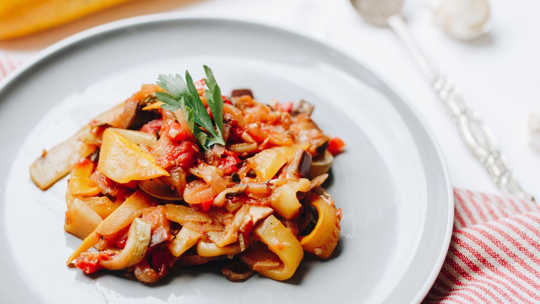 Elegant French Cuisine Vegetarian Dishes