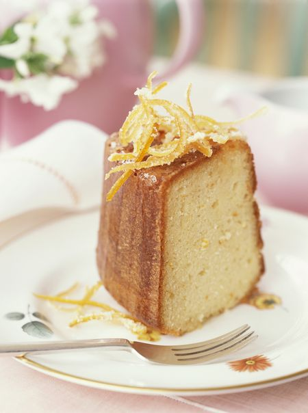 Easy Orange Liqueur Cake Recipe