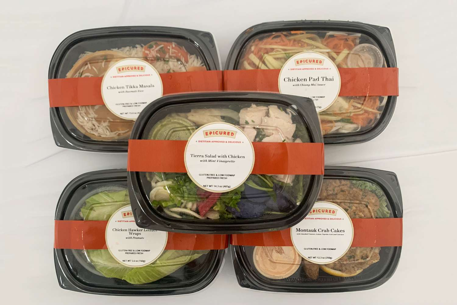 Epicured meals in packaging