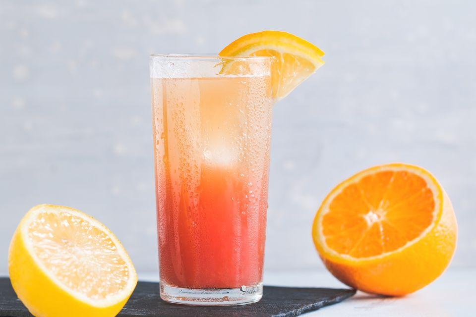Cardinal Punch Mocktail
