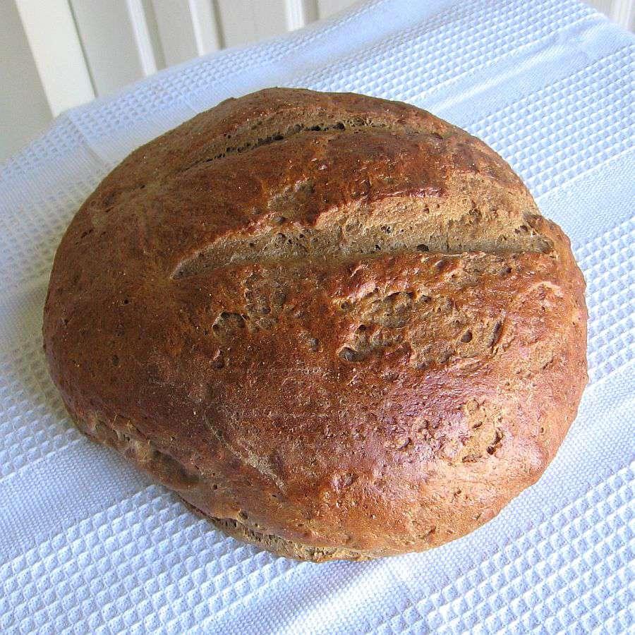 Lithuanian Easy Dark Rye Bread