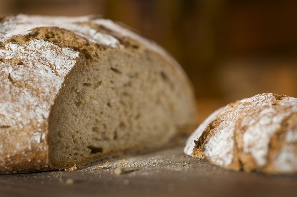 German Country Bread, Bauernbrot, Vollkornbrot