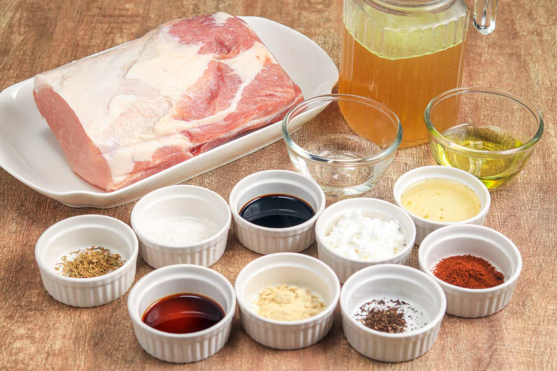 Crock pot pork loin roast ingredients