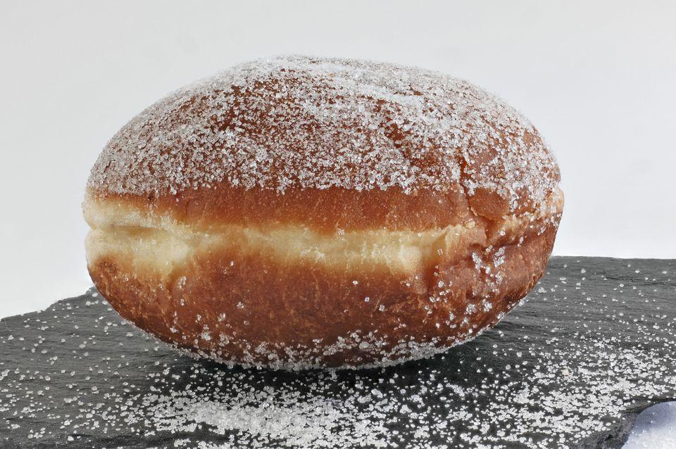 German Fastnacht Doughnut