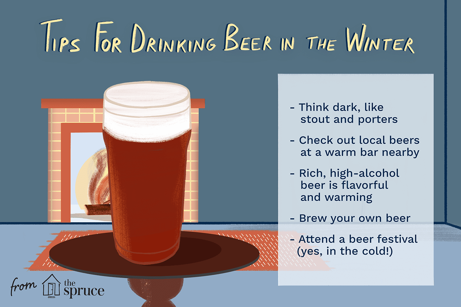 tips for drinking beer in the winter