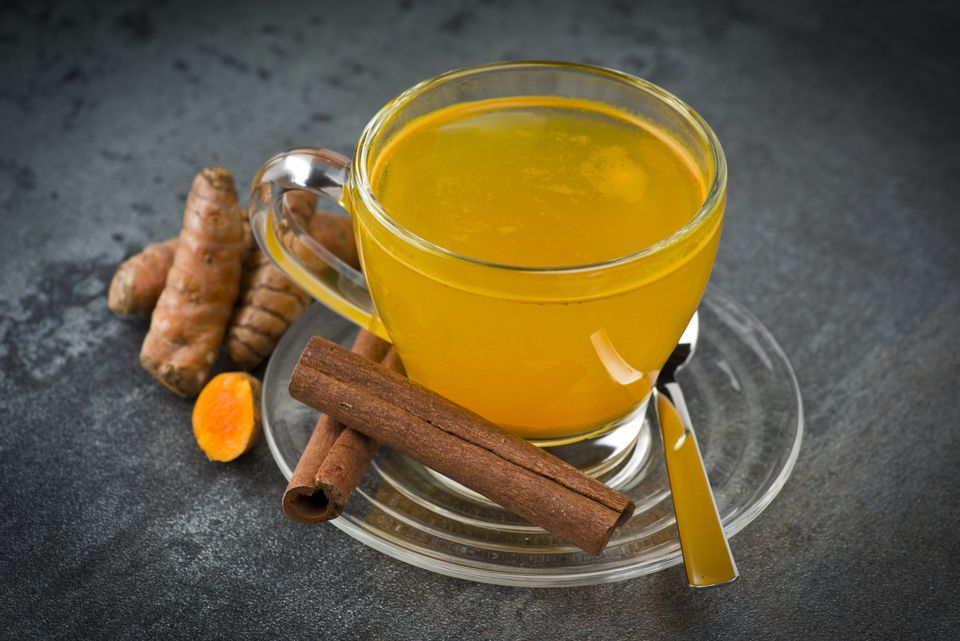 herbal tea with turmeric