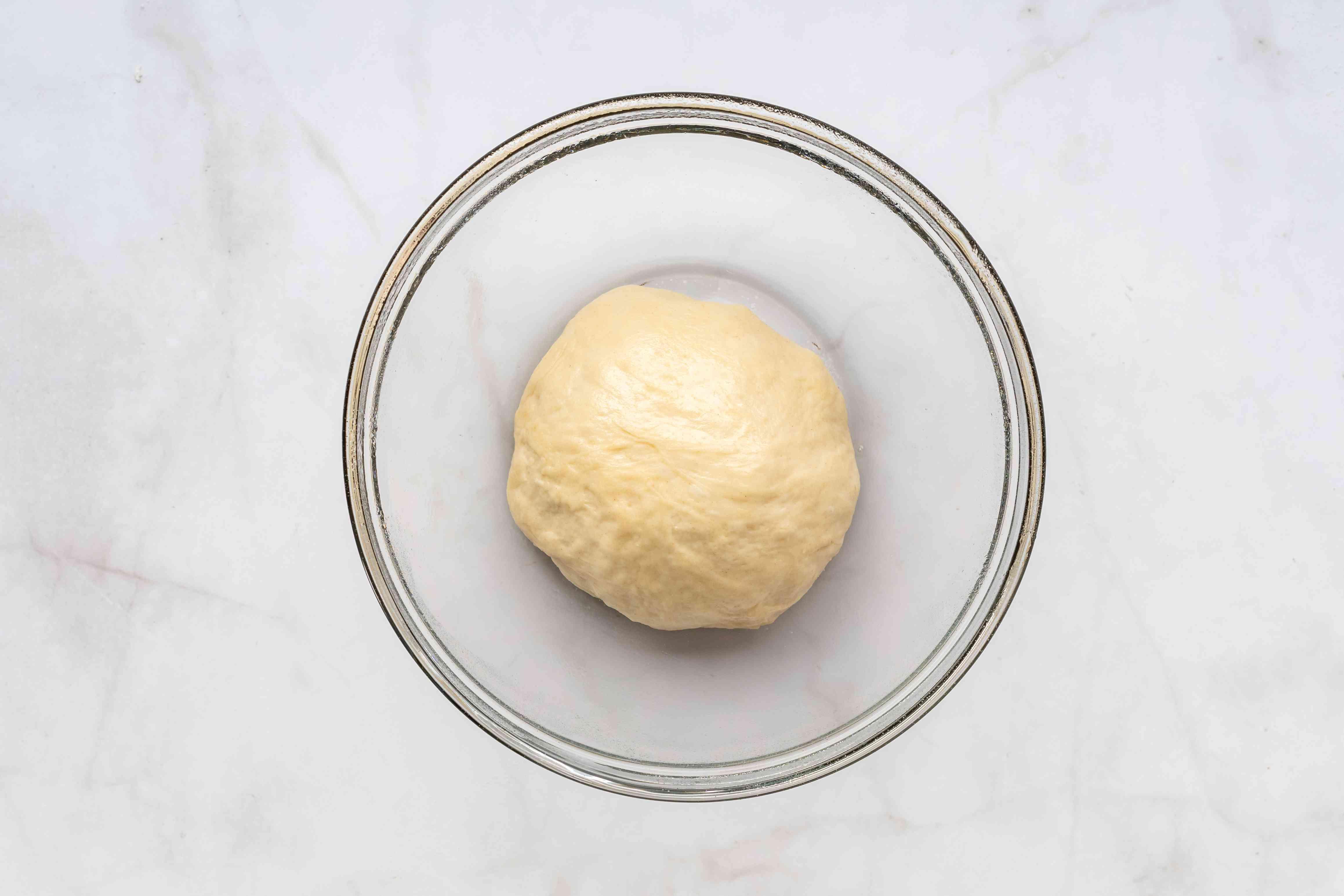 dough ball in a bowl