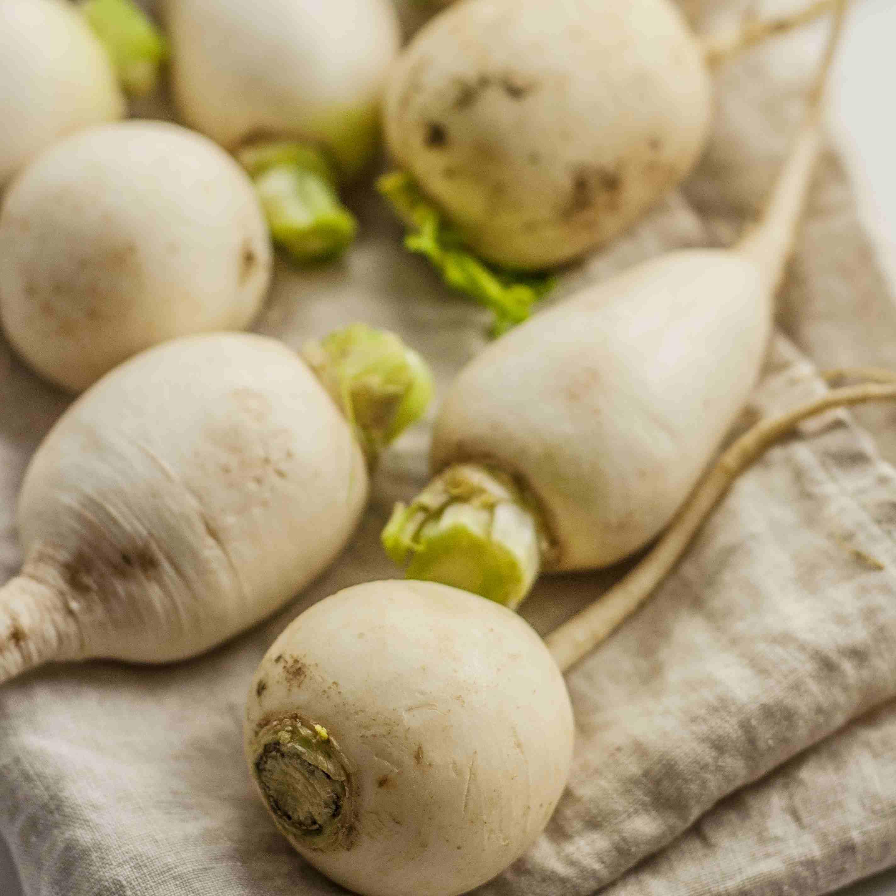 Fresh turnips