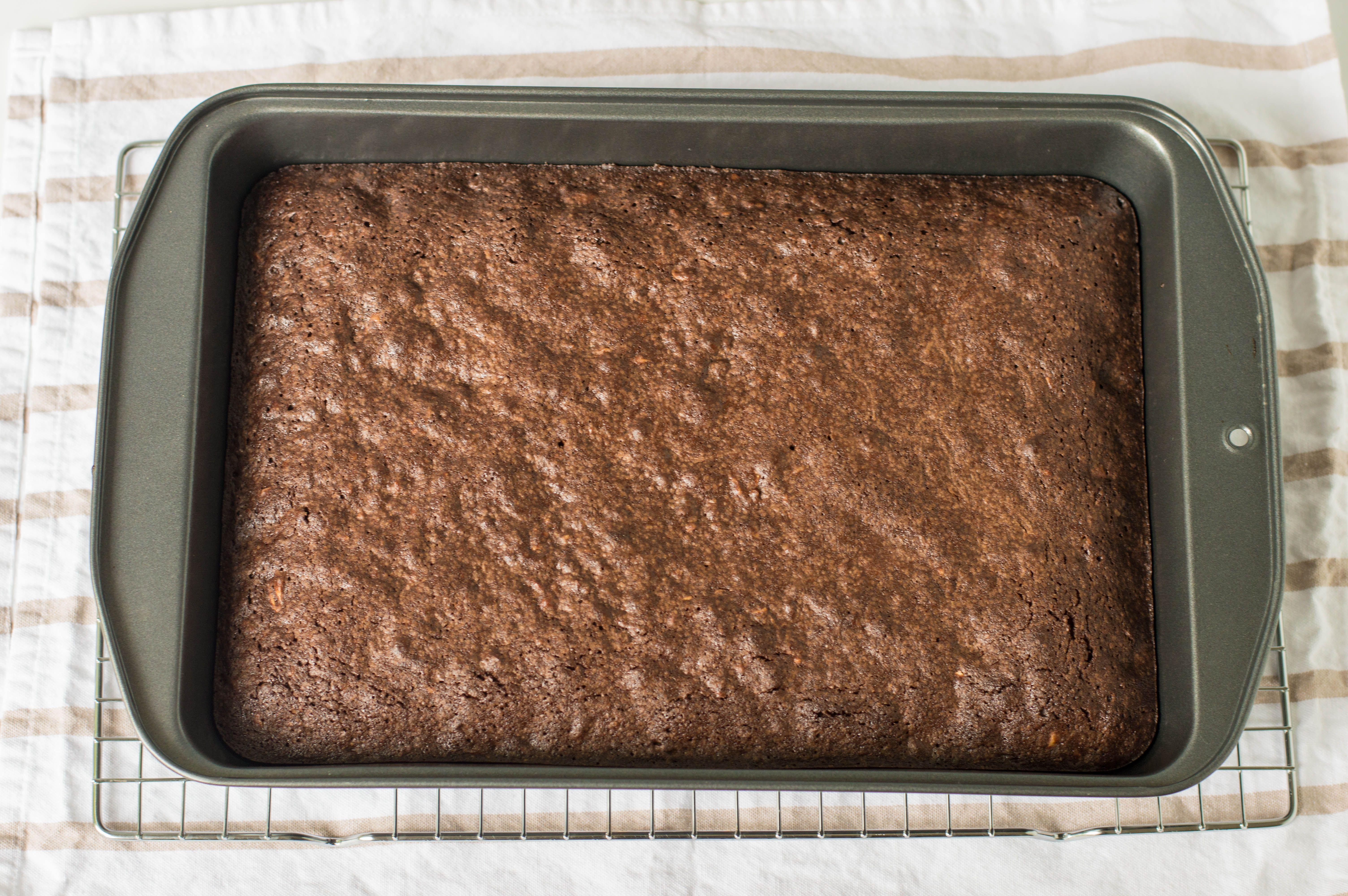 Cooked Chocolate Fudge Brownies