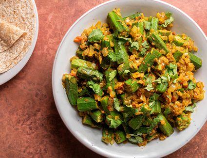 Bhindi Dopiaza - Okra Dopiaza