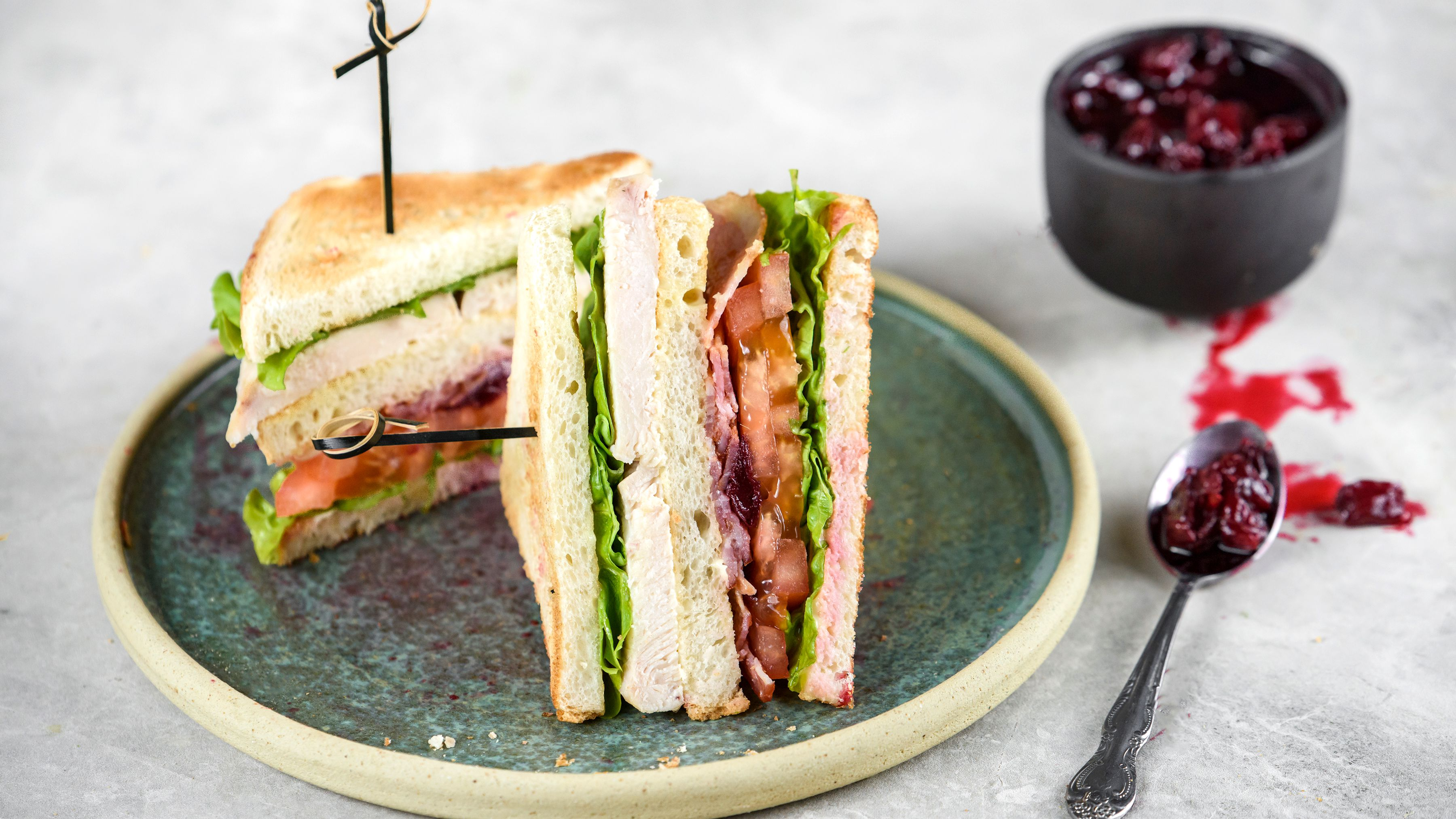 Turkey Club Sandwich Recipe