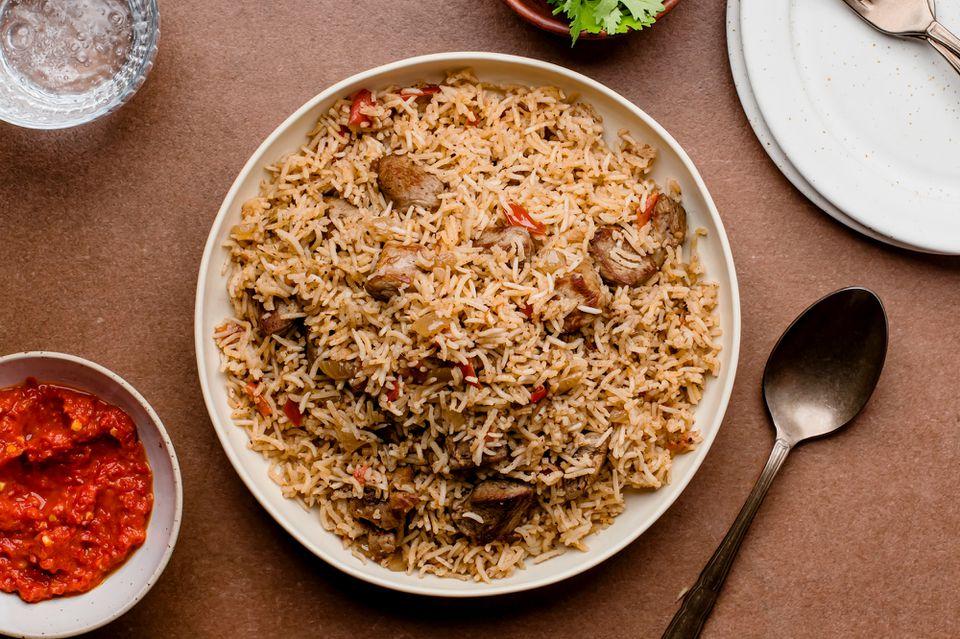 Bariis Iskukaris Spiced Somali rice recipe