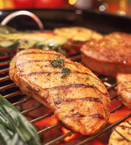 Grilled Tarragon Chicken