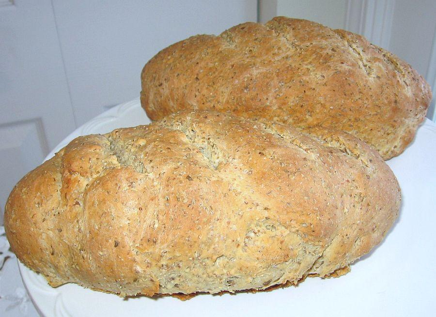 Light Pumpernickel Rye Bread